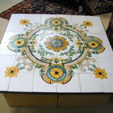 Quadrat. Tisch Florum Poema